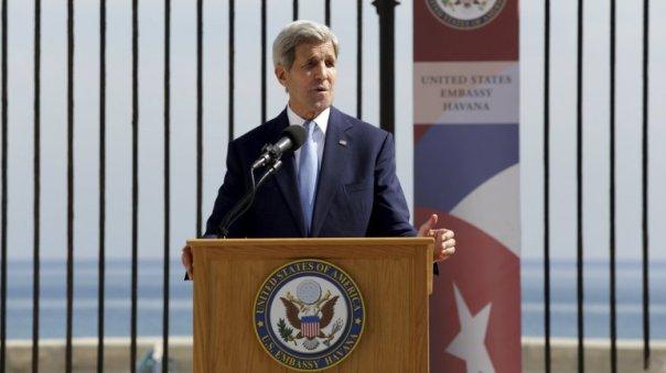 John Kerry en Cuba