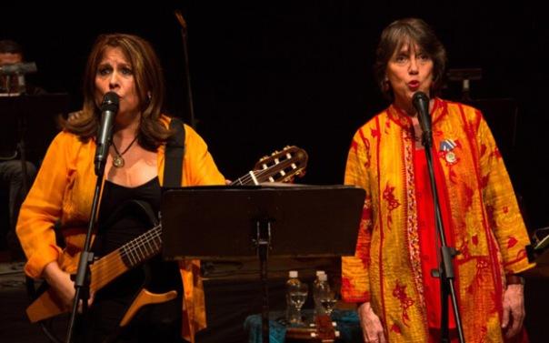 Liuba María Hevia y Cecilia Tood en Caracas