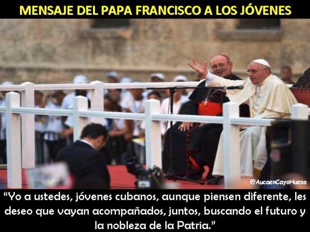 Mensaje del Papa Francisco a los jóvenes