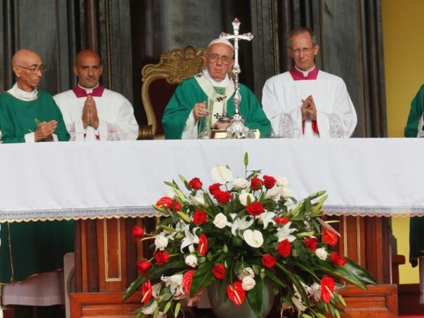 Misa del Papa Francisco en La Habana
