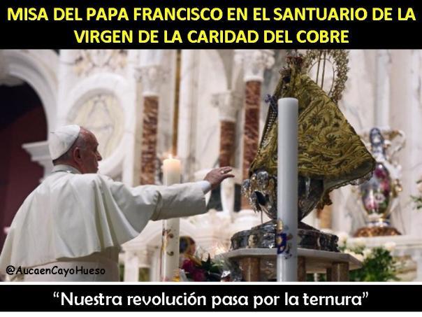 Misa del Papa Francisco en Santuario del Cobre 1
