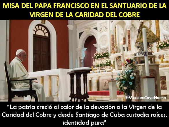 Misa del Papa Francisco en Santuario del Cobre 2
