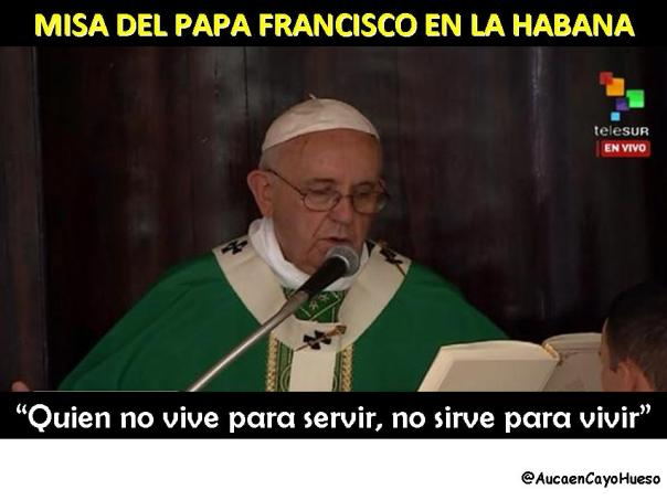 Misa Papa Francisco en La Habana 2