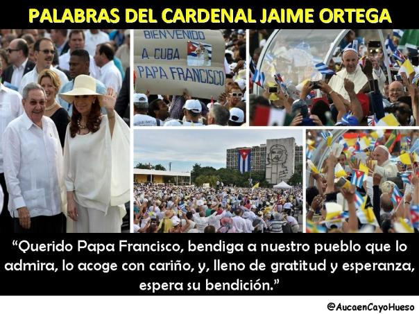 Palabras Cardenal Jaime Ortega