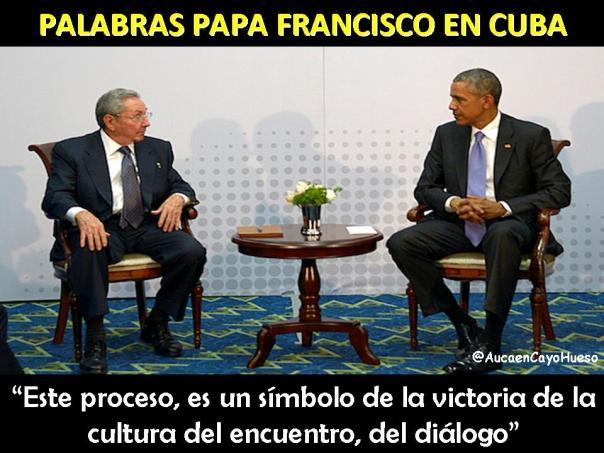 Palabras Papa Francisco en Cuba 2