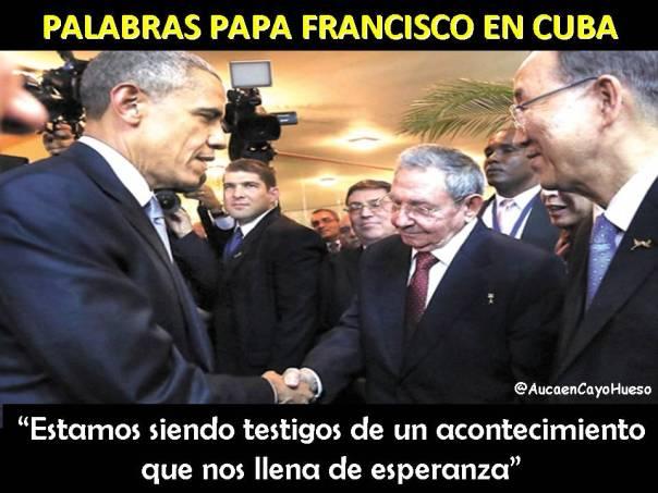 Palabras Papa Francisco en Cuba