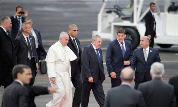 Papa Francisco en Cuba 1