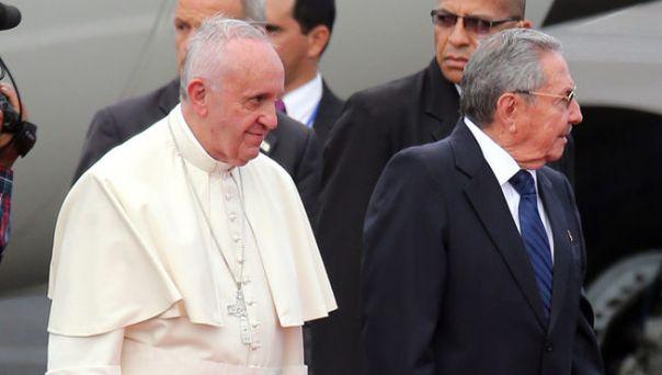 En fotos, así llegó a Cuba el PapaFrancisco