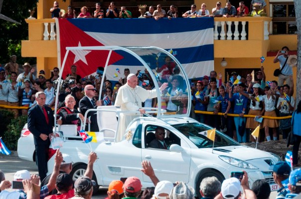 Papa Francisco en Holguín 2