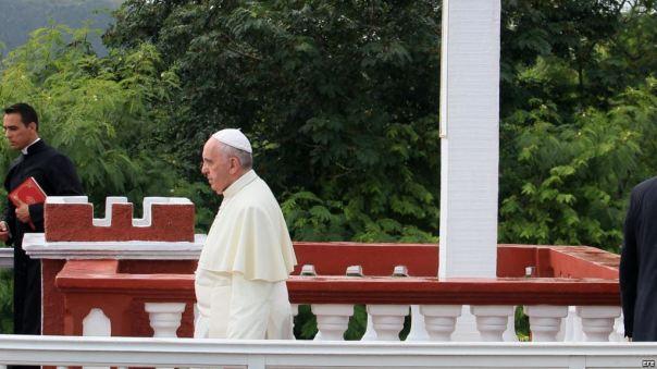 Papa Francisco en la Loma de la Cruz 2