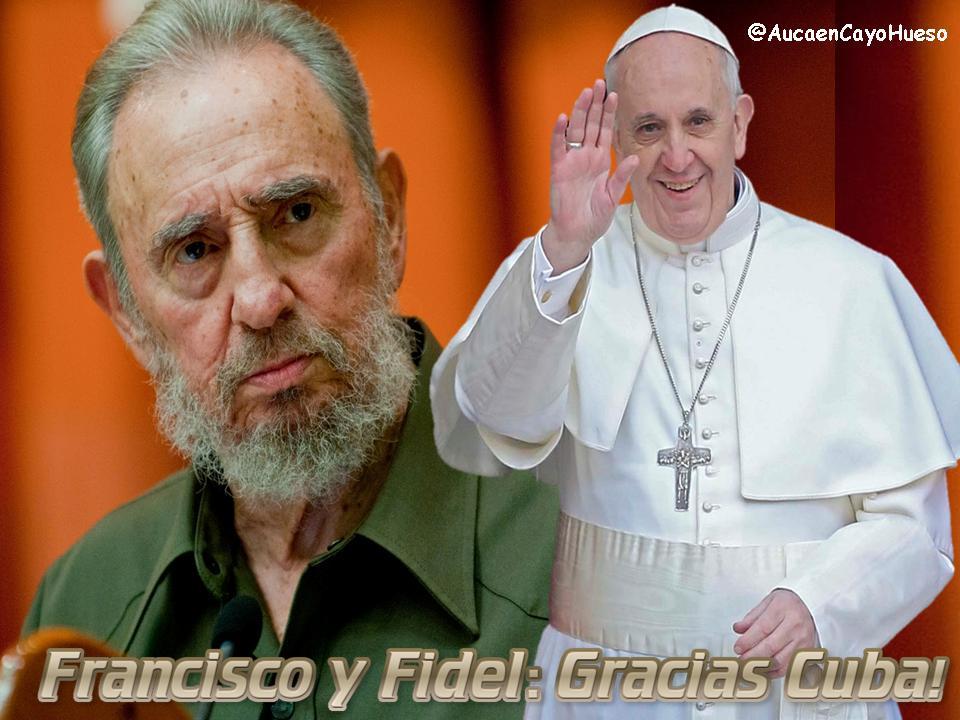 Papa Francisco y Fidel