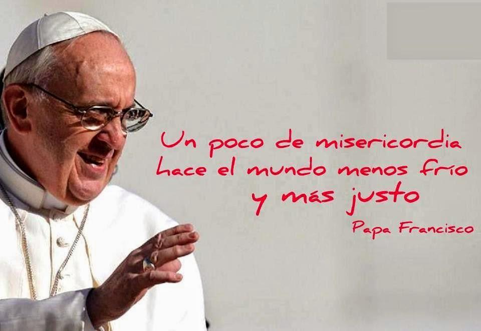 Papa Francisco y la misericordia