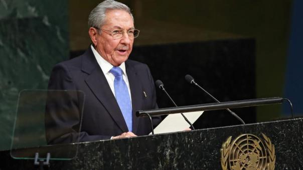 Raúl Castro en la ONU