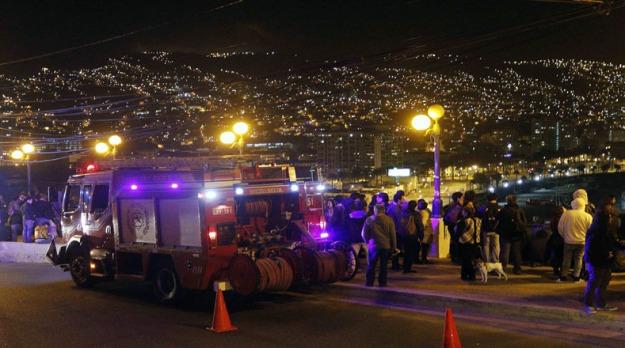 Terremoto en Chile de 8.4 grados