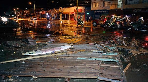 Tsunami en Chile 4