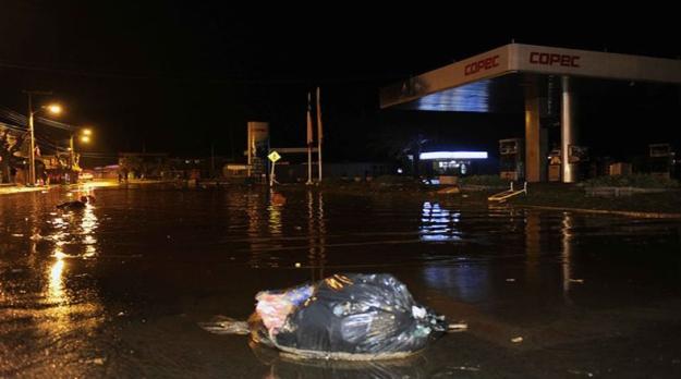 Tsunami en Chile 5