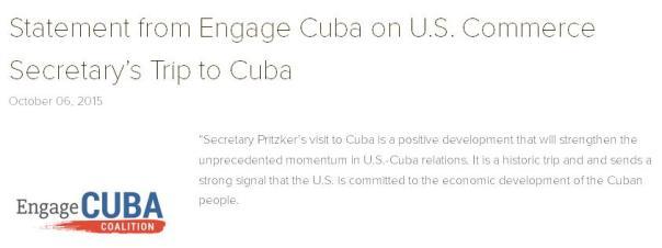 Engage Cuba