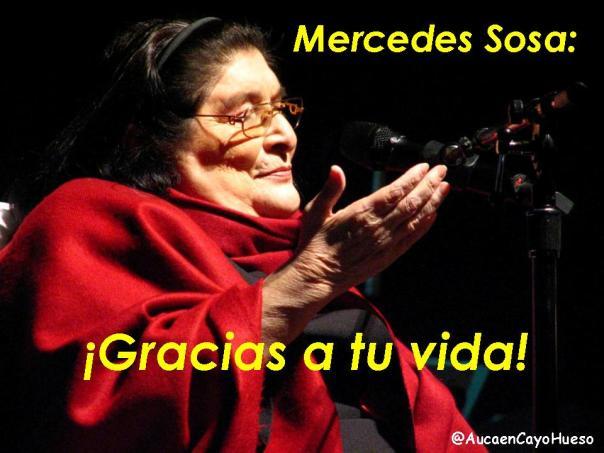 Mercedes Sosa, Gracias a tu vida