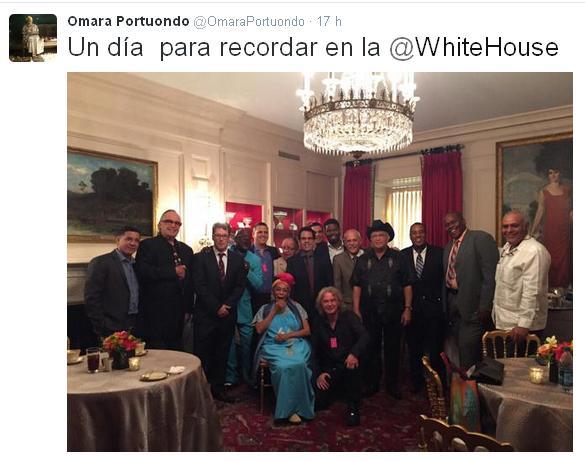 Tweets Omara Portuondo