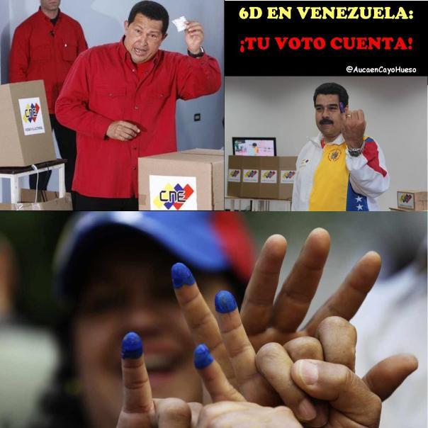 6D en Venezuela, Tu voto cuenta