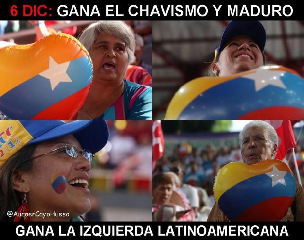 6DIC gana la izquierda latinoamericana