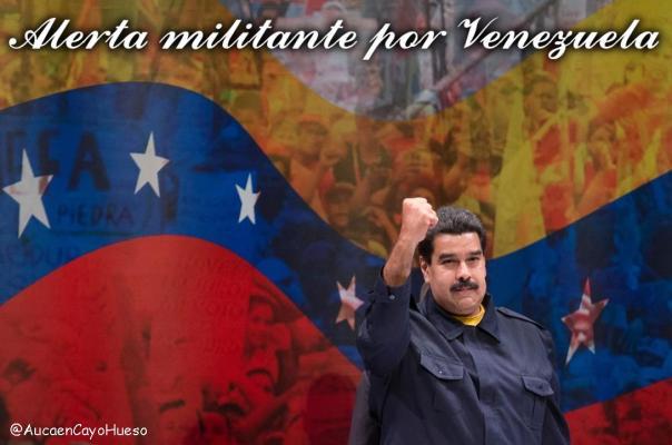 Alerta militante por Venezuela