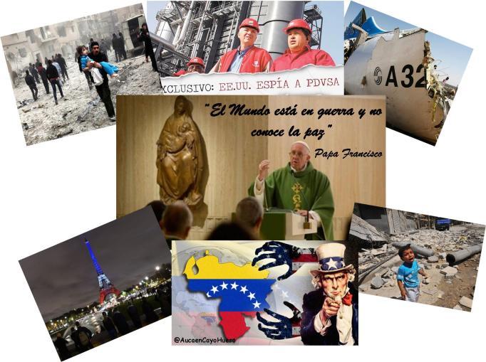 Papa Francisco El mundo está en guerra