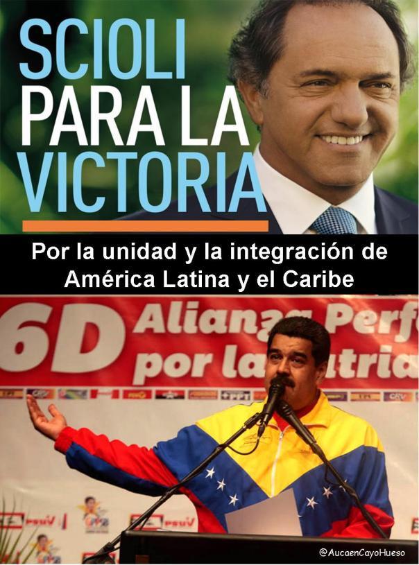 Por la unidad y la integración de América Latina