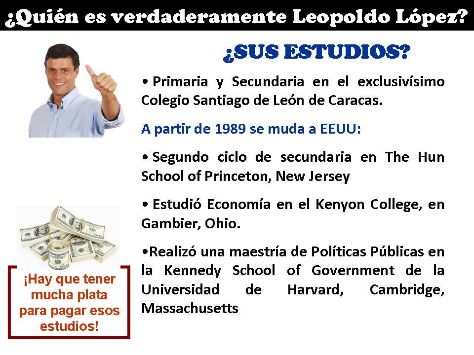 Quién es Leopoldo López 3