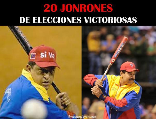 20 jonrones de elecciones victoriosas