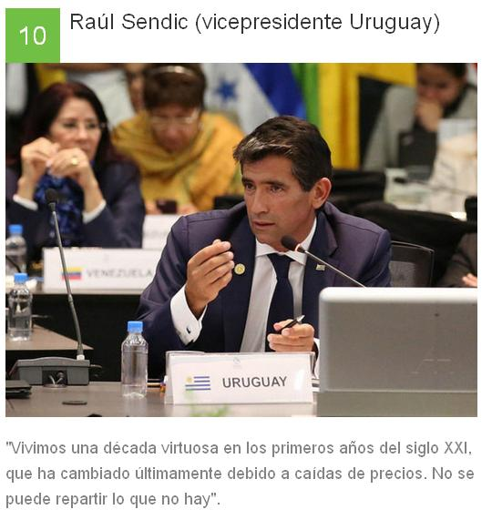 10 Raúl Sendic - Uruguay