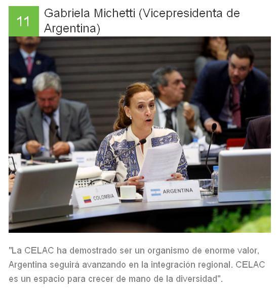 11 Gabriela Michetti - Argentina