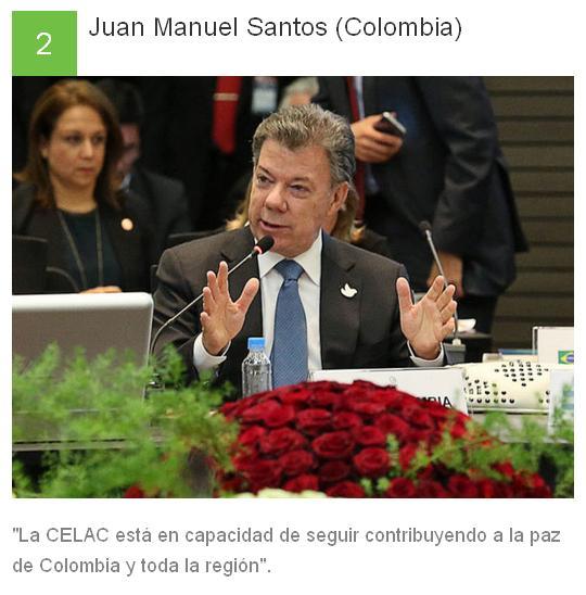 2 Juan Manuel Santos - Colombia