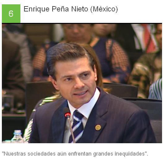 6 Enrique Peña Nieto - México
