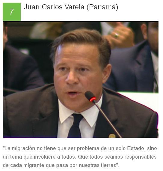 7 Juan Carlos Varela - Panamá