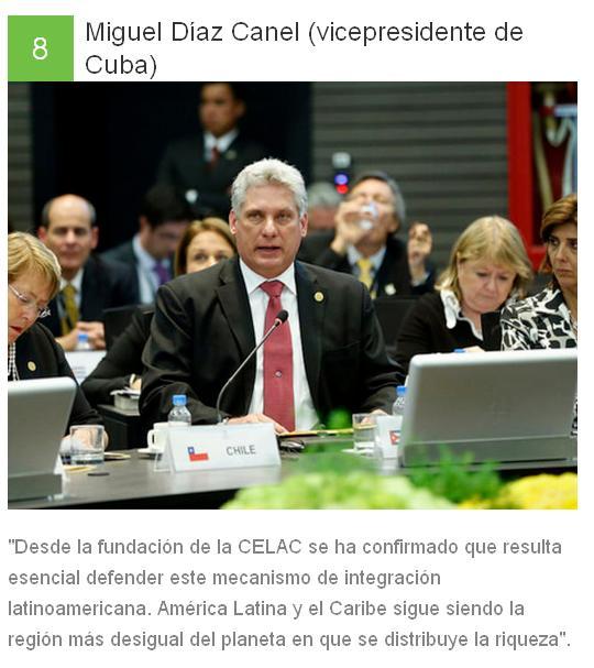 8 Miguel Díaz Canel - Cuba
