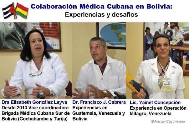 Colaboración Médica Cubana en Bolivia