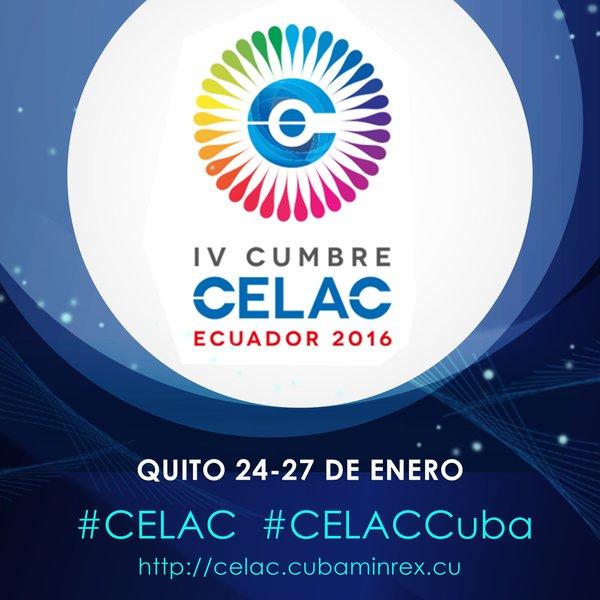 Cuba en la IV Cumbre Celac