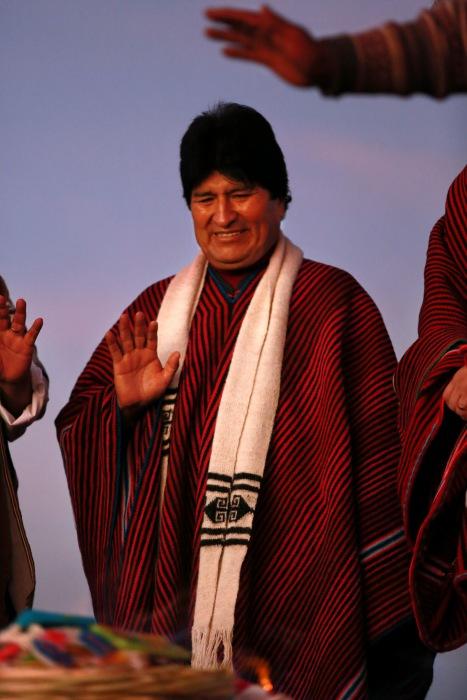 Evo Morales 10 años 1