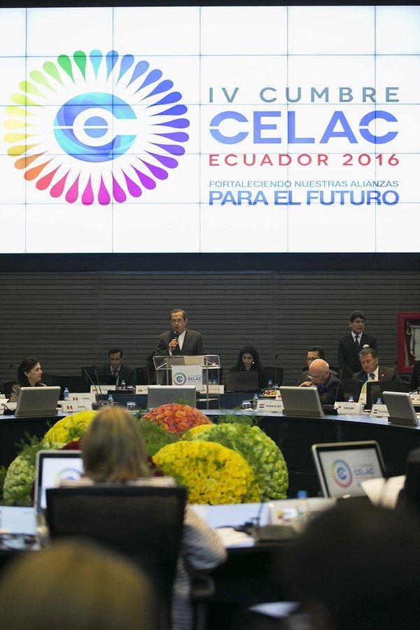 Inauguración de la reunión de Cancilleres de Celac 1