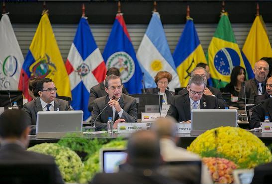 Ricardo Patiño inaugura reunión de Cancilleres de Celac