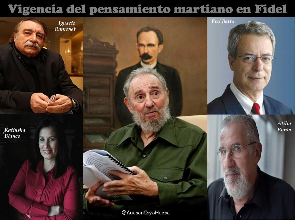 Vigencia del pensamiento martiano en Fidel