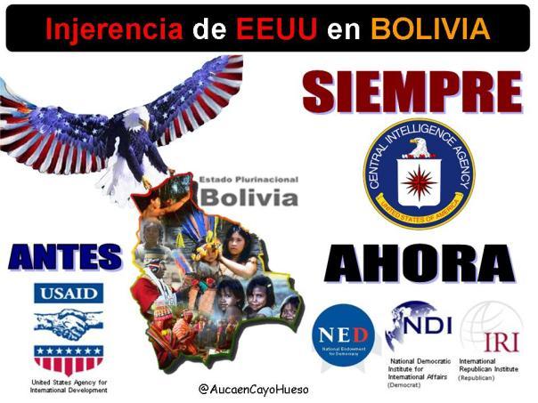 Injerencia de EEUU en Bolivia