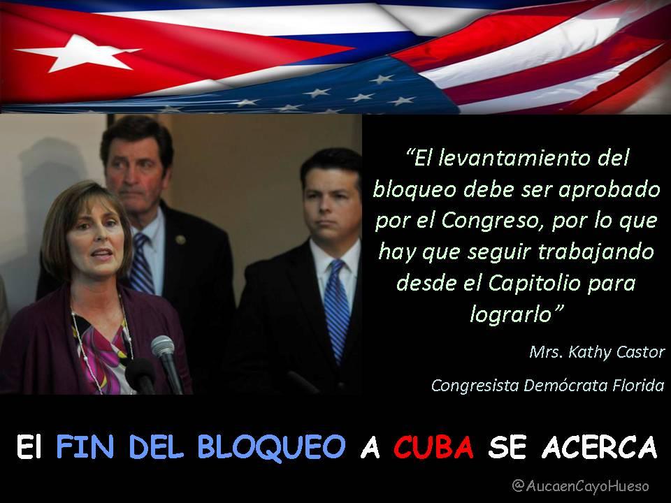 Kathy Castor Congresista Florida y el bloqueo a Cuba