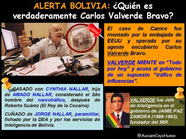 Quién es verdaderamente Carlos Valverde Bravo
