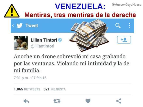 Venezuela, mentiras tras mentiras de la derecha