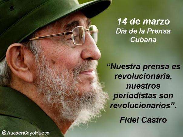 14 de marzo Día de la prensa cubana 2