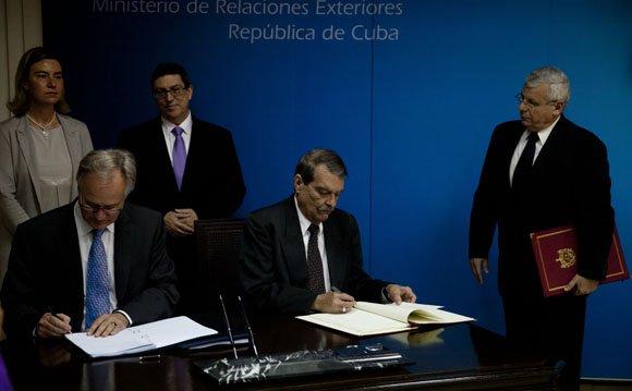 Acuerdo Cuba-UE