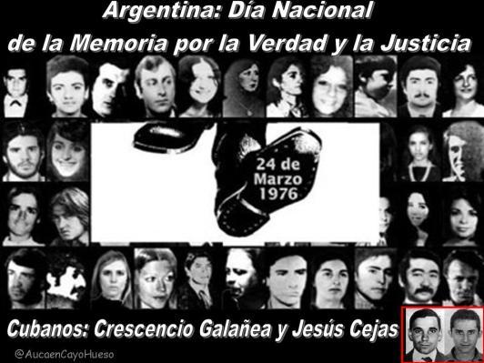 Argentina Día Nacional de la Memoria por la Verdad y la Justicia