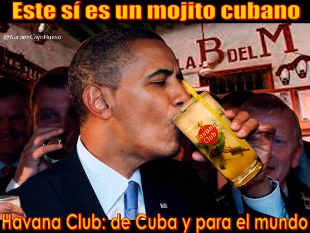 El mojito de Obama en La Habana